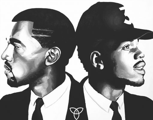 Kanye x Chance Print