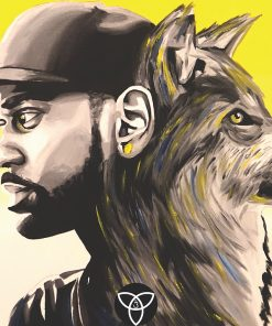 Big Sean x Wolf Print
