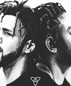 Cole x Kendrick Print