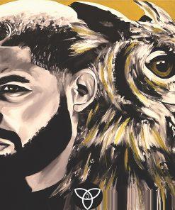 Drake x Owl Print