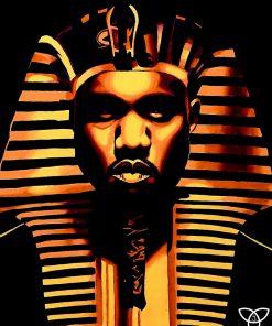 Pharaoh Kanye Print