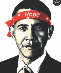 Obama Hope Print